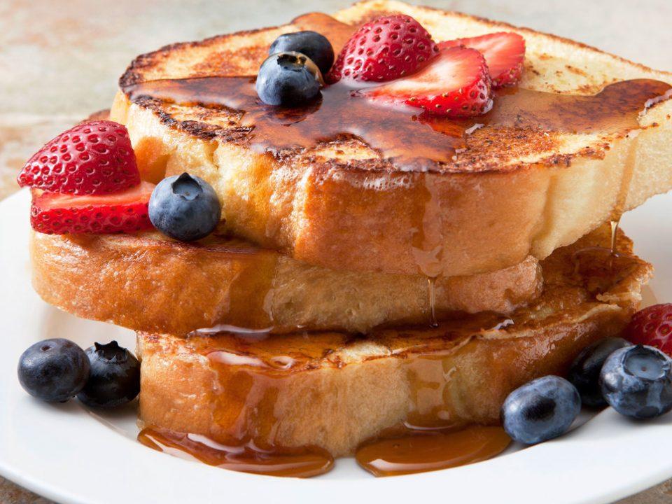 Skip the breakfast carbs